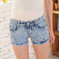 #0516 New 2014 fashion high quality women lady girls denim jeans Korean summer vintage shorts pants