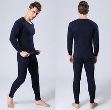 Free shipping Autumn Winter Man men's thick thermal underwear set suits thickening and velvet warm long Johns underwear suits(China (Mainland))