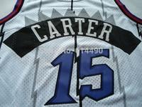 Vince Carter Toronto Jersey NO.15 Wholesale North Carolina College Cheap Basketball Throwback Jersey Sport Shirt
