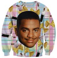 football star man's face print women pullovers 2014 Winter Warm Sexy Casual Women Tracksuits Sport Shirt sweatshirt