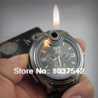Ali Cool Fashion Novel Watch Refillable Butane Gas Cigarette Cigar Smoker Lighter AA032 P