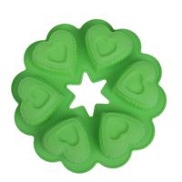 6 Heart-shaped sweety style cake mold jelly bread mold DIY Decorating Fondant Cake Tools food grade mold