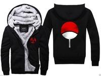 NEW NARUTO Women Men's Jacket Sweater Hoodies Thickening Plus velvet Free Shipping