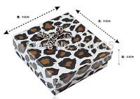 Free shipping wholesale 50pcs/lot 9*9*3CM fashion jewelry packaging box,pendant box