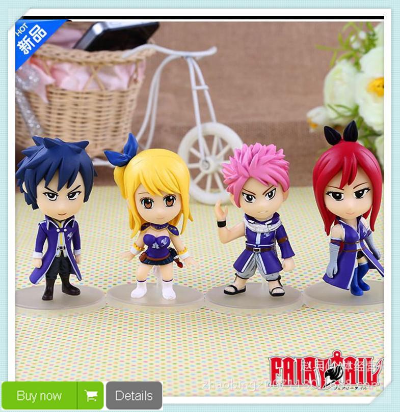 Фигурка героя мультфильма Brand new AILusha 4  Fairy Tail  фигурка героя мультфильма brand new heartfilia fairy tail
