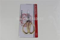 "1Pcs Gold Plated Dragon Phoenix Sharp Scissors 5.5"" Inch"