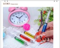 Hot Sale Syringe ballpoint pen Novelty Plastic Novelty pens  Mixed Stationery 20pcs/lot Free Shipping