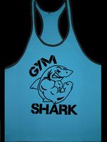 100% Cotton Fit Tank Tops Muscle bodybuilding training vest GymShark Titan Bodybuilding Stringer Men Gym Shark Fitness Vest