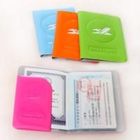 NEW Multifunction  PU Travel Bag  Passport  Holder 13.5*10.5CM(2PIECES/LOT)