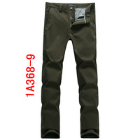A ea7 male casual pants men's clothing trousers winter commercial slim plus velvet thickening plus size casual pants