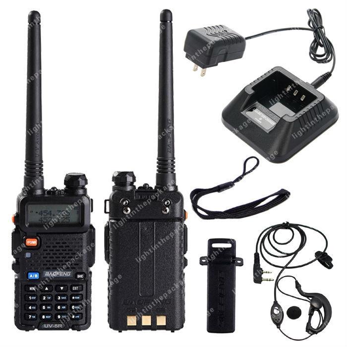 BAOFENG UV-5R VHF/UHF Dual Band 136-174/400-520MHz FM Ham Two Way Radio B0476(China (Mainland))