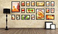 Photo Frame Moldura Wood Home Living Room Wall Mounted Creative SM-17A-B Decoration Art Home Decor Wall Stickers Photo Albums