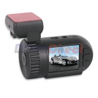 """100% Original Mini 0801 Full HD 1.5"""" car Dvr Ambarella A2S60+OV2710 GPS ROM 8GB 120 wide angle 1080P Car video Recorder Camera"""