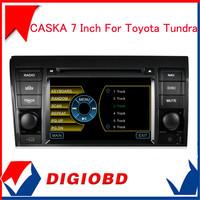 2014 Original CASKA 7 Inch Car DVD Player For Toyota Tundra Car In-dash System Built In NXP Radio Modules 4S3697GB Free Shipping