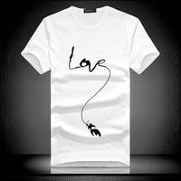 2014 new High Quality men's T-shirt simple deformation printing cotton t shirt camisetas masculinas t shirt