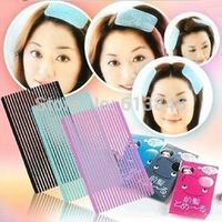 200pcs/lot Wholesale Front Hair Fringe Holder Stabilizer Grip Velcro Makeup Sticker Pad Wash Face SQF773
