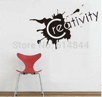 The sticker on the wall maxim Creativity vinilos paredes 60*30 P3