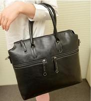 Hot sale New 2014 new Korean handbag  fashion vintage diagonal handbags high quality PU Leather messenger bags
