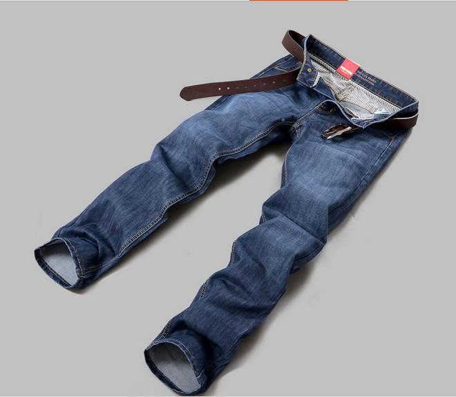 Бизнес моды АМУС Брендовые Мужские джинсы