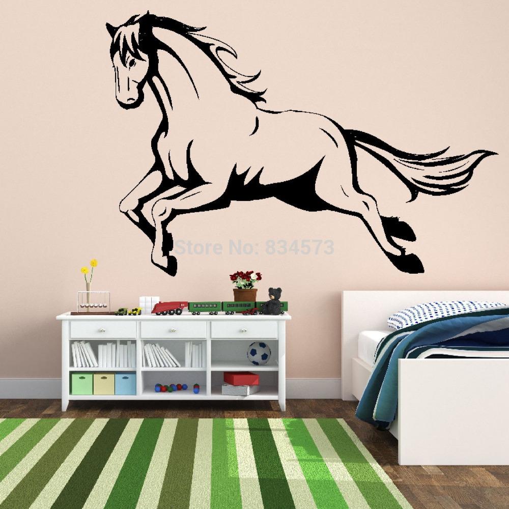 Online kopen wholesale paard te springen kunst uit china paard te springen kunst groothandel - Schattige meisje slaapkamer ...