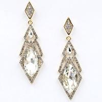 2014 New fashion women statement big and long stud Earrings for women fashion earring Factory Price wholesale women gift