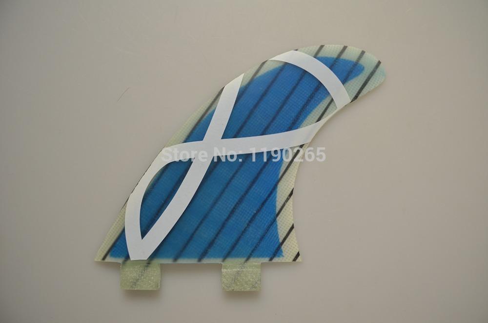 FIBERGLASS G5 SIZE SURFBOARD FINS FOR SURFBOARD(TRI-SET)(China (Mainland))