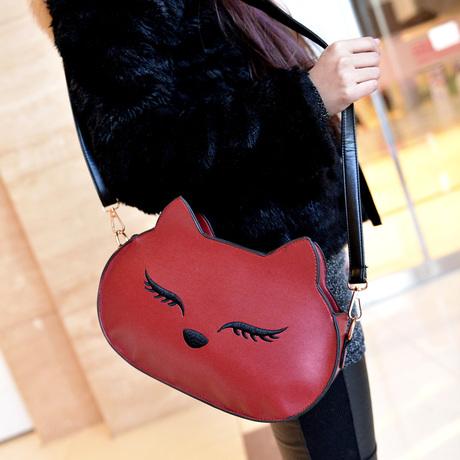 Women's handbag 2014 small fox bag one shoulder mini cross-body bag(China (Mainland))