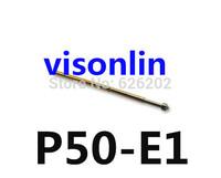 Wholesale Free Shipping  50pcs P50-E1 Dia 0.68mm Length 16mm 75g Spring Test Probe Pogo Pin