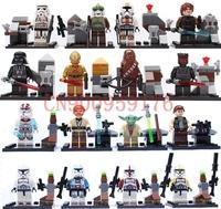 star war minifigures building block figures