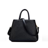 women's bags 2014 embossed plaid bag fashion handbag fashion shoulder bag