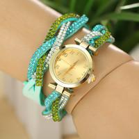 9 Colors New Fashion Watch Women Women Dress Watches Leather Strap Watch Quartz Watch