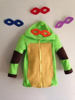 Retail+New 2014 Autumn Teenage Mutant Ninja Turtles coat,Baby Chirstmas Jacket,Lovely Winter children outerwear,baby clothing