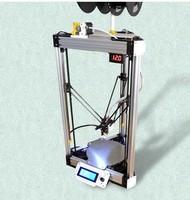 3D printer speed high-precision parallel arm D-force upgrade beyond KOSSEL print size: diameter 225mm x height 290mm