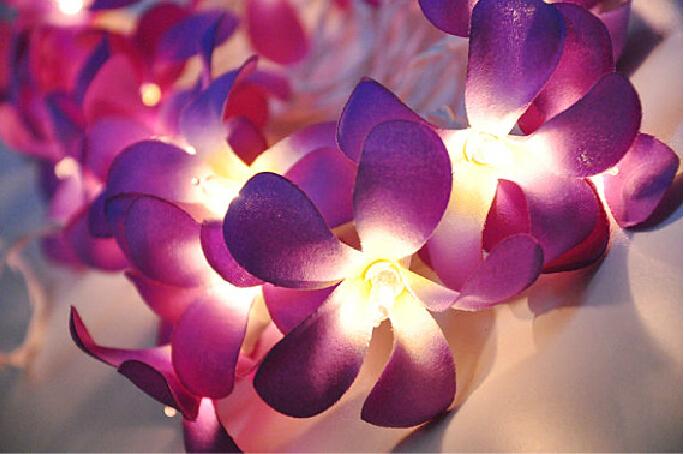 new arrival Christmas Light Garland Lamp AC110V 220V For Christmas Home Decoration Lamp Flower cristmas Decoration Light(China (Mainland))