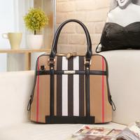 bolsas femininas 2014 bolsa franja canvas women handbag quality fashion lady lattice shoulder bag leather crossbody bag 4 color