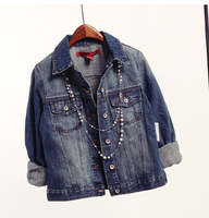fashion short jeans jacket women coats
