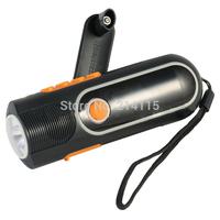 Mini LED hand crank  flashlight radios XLN - 704 free shipping