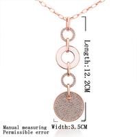 Wholsale new FASHION jewelry 925 Sterling Silver Sweater chain NECKLACE Penoyjewelry LKN18KRGPM002