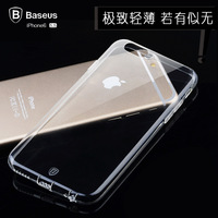 For  for iphone   6 plus phone case for  for apple   6 plus protective case 5.5 ultra-thin transparent protective case