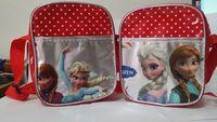 Women Handbag Rushed Real Pillow Lace Zipper Character Girls Pu 2014 New Wave Point Frozen Bags Shoulder Bag Messenger