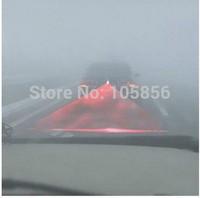 2014 Universal Car Laser Fog Lamp Safety Led Back Rear Warning Light Anti Fog Anti Collision Auto Rear LED Laser Fog Light