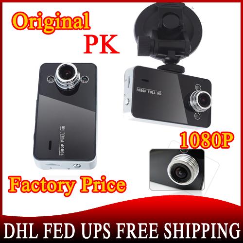 20pcs/lot* Original K6000 Car Camera Novatek Chipset Car Video Recorder FHD 1920*1080P 25FPS 2.5 inch Car DVR(China (Mainland))