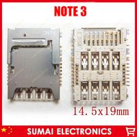 16modles оригинальный новый держатель SIM-карты читателя sockector для samsung note3 i9300 s5230 i9250 p3100 i9082 w899 wadapter Эст