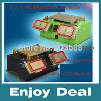 3 in 1 Multifunction Preheater Station + Middle Bezel Frame Separator Machine + Vacuum Screen Separator Machine for Samsung