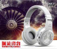 100% original Bluedio H+(Turbine) Bluetooth Stereo Wireless headphones Built-in Mic Micro-SD/FM Radio BT4.1 Over-ear headphones