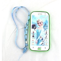 new frozen cartoon toy cellphone children's english learning toy mobile phone with projection for kids Christmas new year gifts