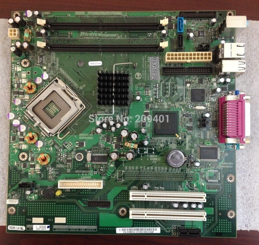 Free Shipping For Dell Optiplex GX520 0H8052 Desktop Motherboard Mainboard LGA 775 DDR2 Tested ok(China (Mainland))
