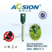AN-B011-1  Outdoor garden farm Advanced Radio PIR ultrasonic pigeon mole  Bird Animal repeller repelente pest Control