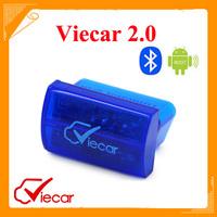 New Arrival Original Viecar 2.0 ELM Bluetooth same as elm327 OBD2 Scan Tool 3 Colors For Optional Free Shipping