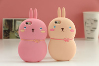 New Lovely 3D Cartoon Rabbit Case Cover For iPhone 6 4.7''